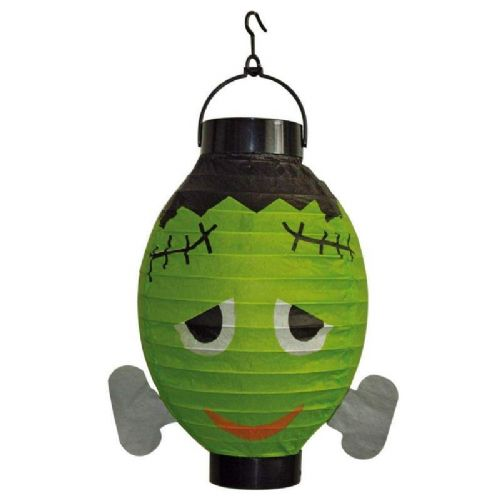 Party Lantern with Light Frankenstein Hawaiian Chinese lampion